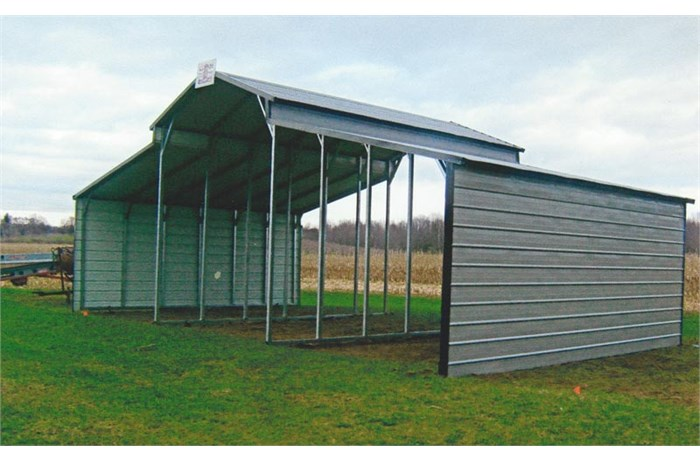 Attractive 2015 American Steel Carports, Inc. Agricultural Style Steel Buildings