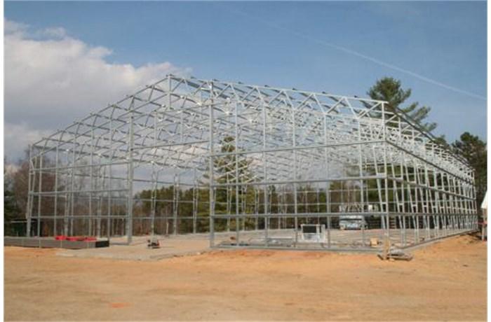 american steel carports inc open span warehouse - Steel Carports